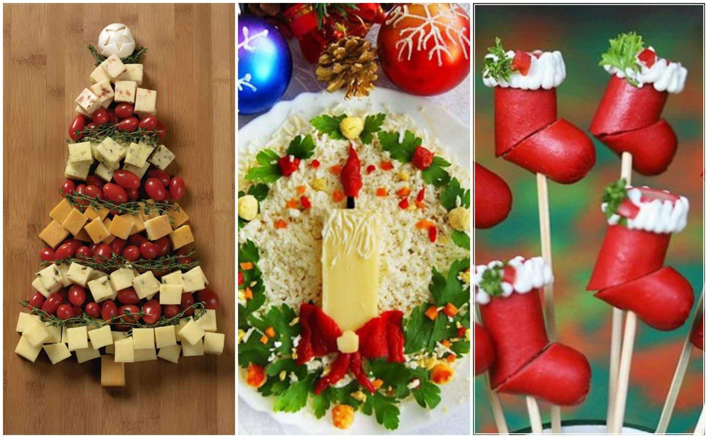 20 Stylish And Most Creative Christmas Food Decorating Ideas | Food ...