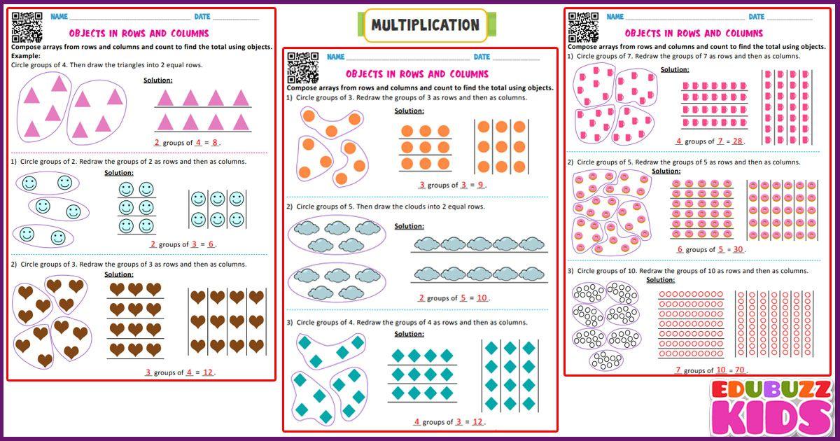 Math Multiplication Worksheets For The Kids Of Kindergarten Pres Free Printable Multiplication Worksheets Printable Multiplication Worksheets Math Worksheets Multiplication worksheets with pictures
