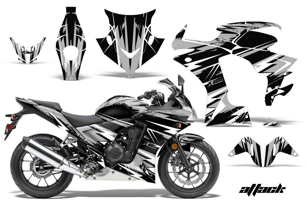 New Set Vinyl Decal Stickers Graphic Adesivi for Kawasaki Racing Motorcycle Bike