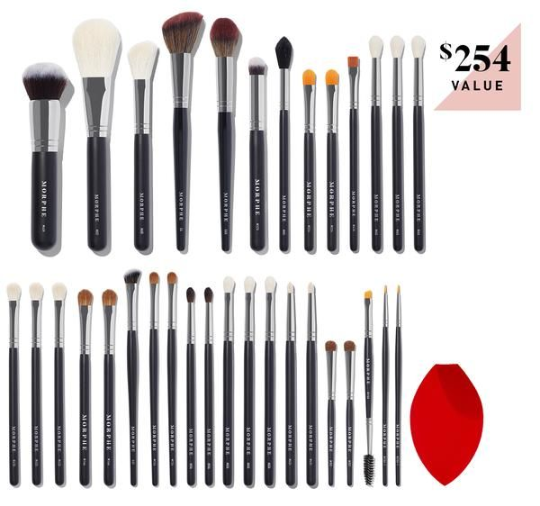 The James Charles Brush Set Makeup Brushes Morphe Makeup Brush Set James Charles