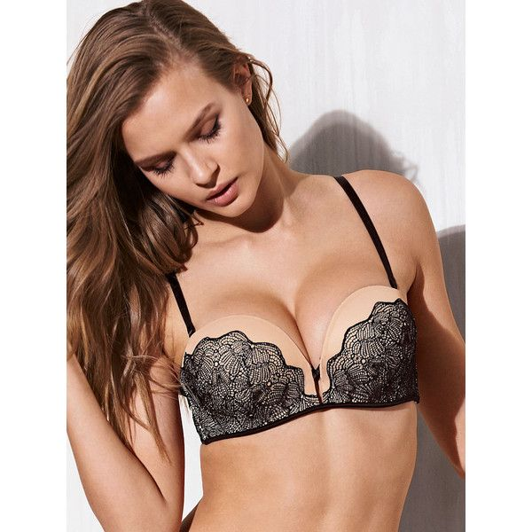 82e2dff26c Victoria s Secret Add-2-Cups Multi-Way Push-Up Bra ( 58) ❤ liked on  Polyvore featuring intimates