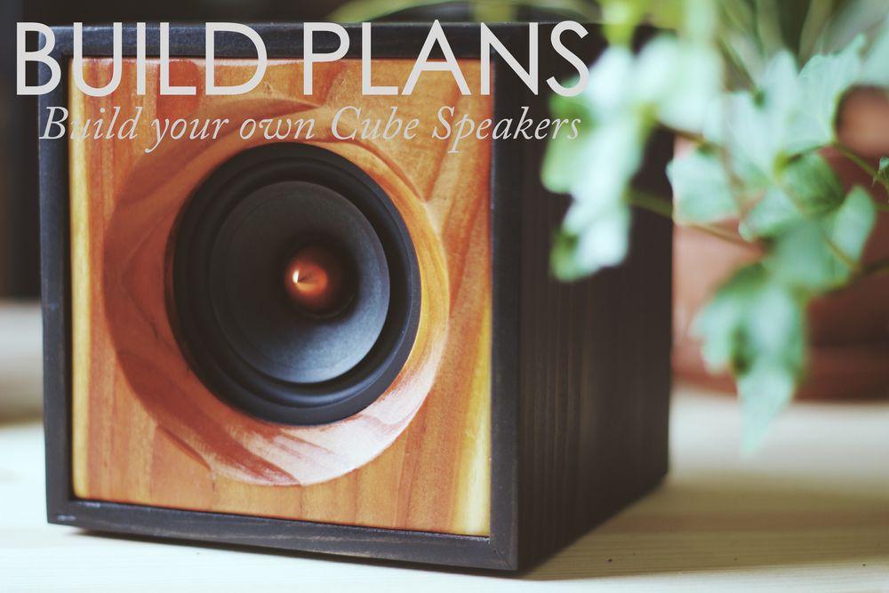 Diy Cube Speakers Build Plans Salvage Audio California