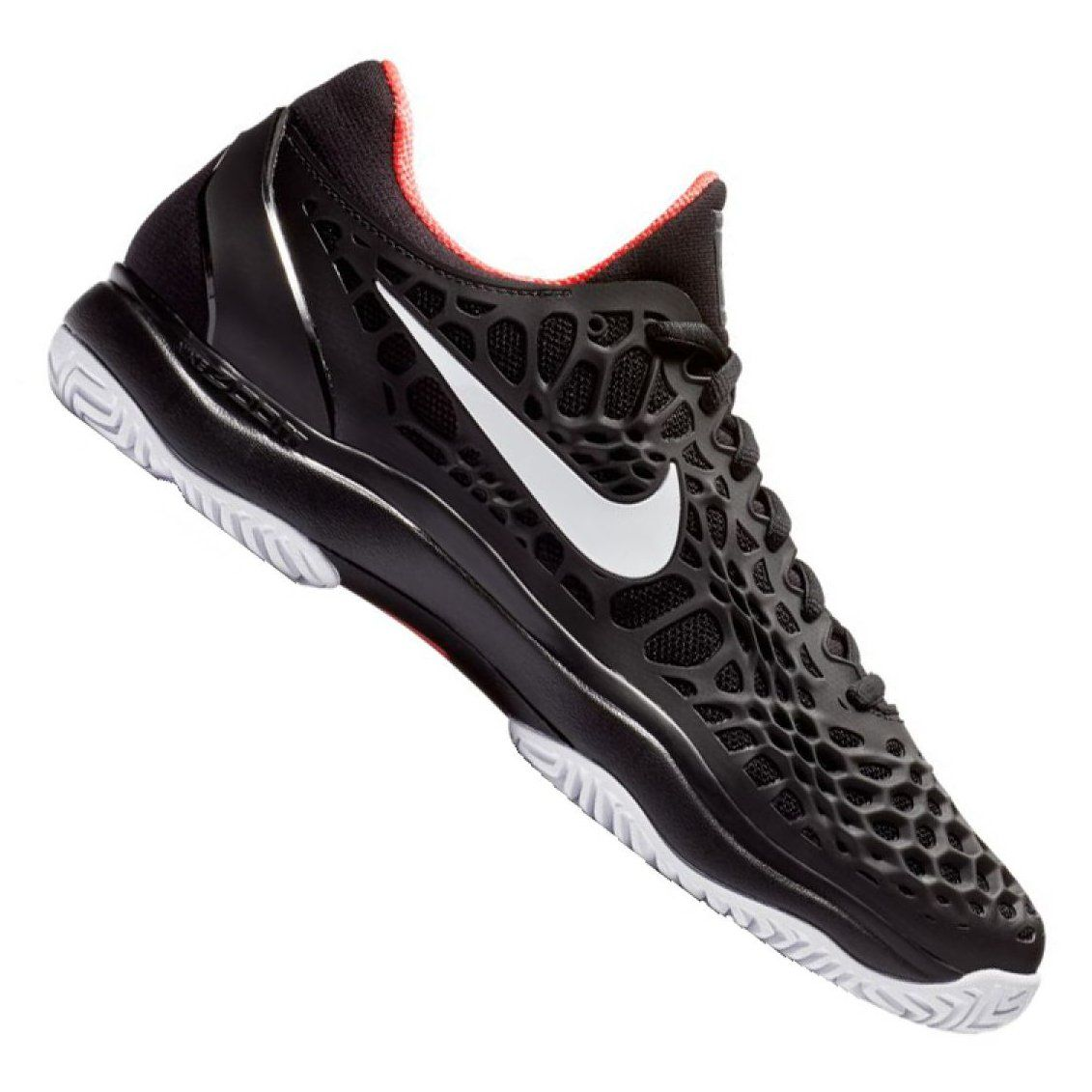 Buty Tenisowe Nike Air Zoom Cage 3 M 918193 026 Czarne Nike Nike Air Zoom Nike Air
