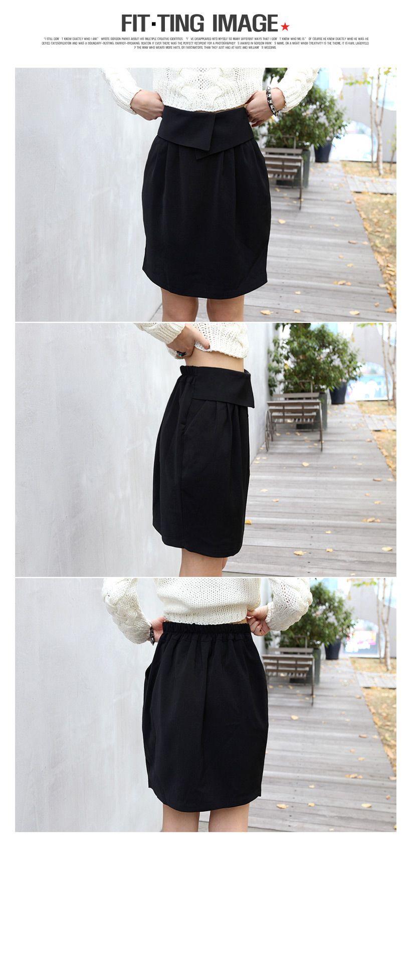 バックウエストゴム入り・バルーンミディアム丈スカート・全3色スカートスカート レディースファッション通販 DHOLICディーホリック [ファストファッション 水着 ワンピース]