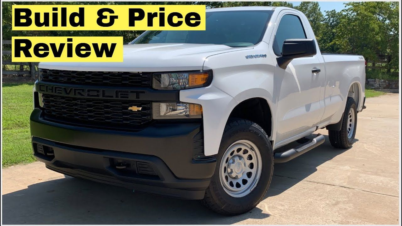2020 Chevy Silverado 1500 4wd Regular Cab Long Bed Work Truck Wt