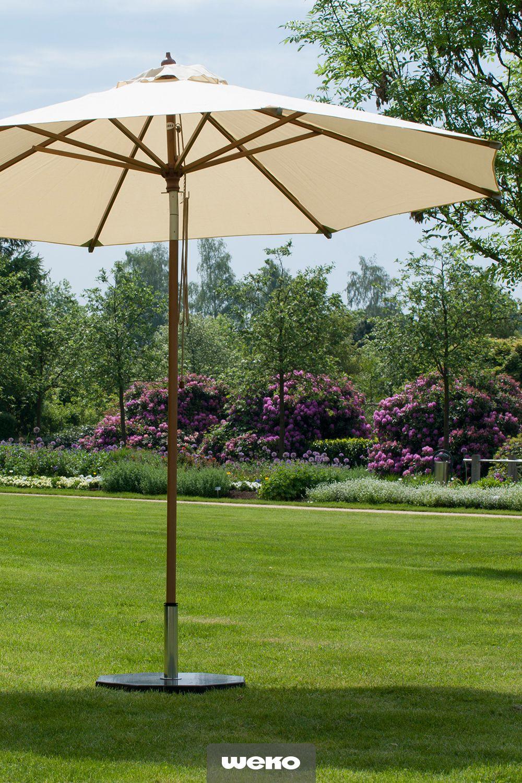 Sonnenschirm Calypso Von Zebra Sonnenschirm Gartengestaltung Terrassengestaltung