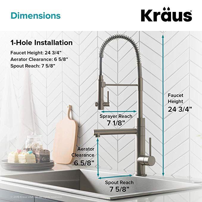 Kraus KPF-1603BG Artec Pro 2-Function Commercial Style Pre ...