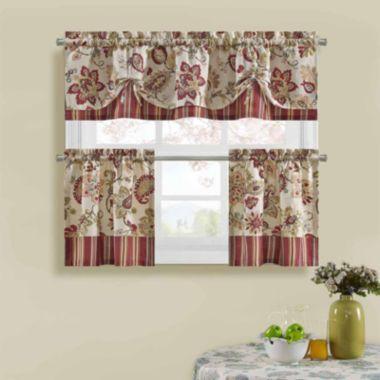 Bijoux Soiree Kitchen Curtains found at @JCPenney | Curtains ...