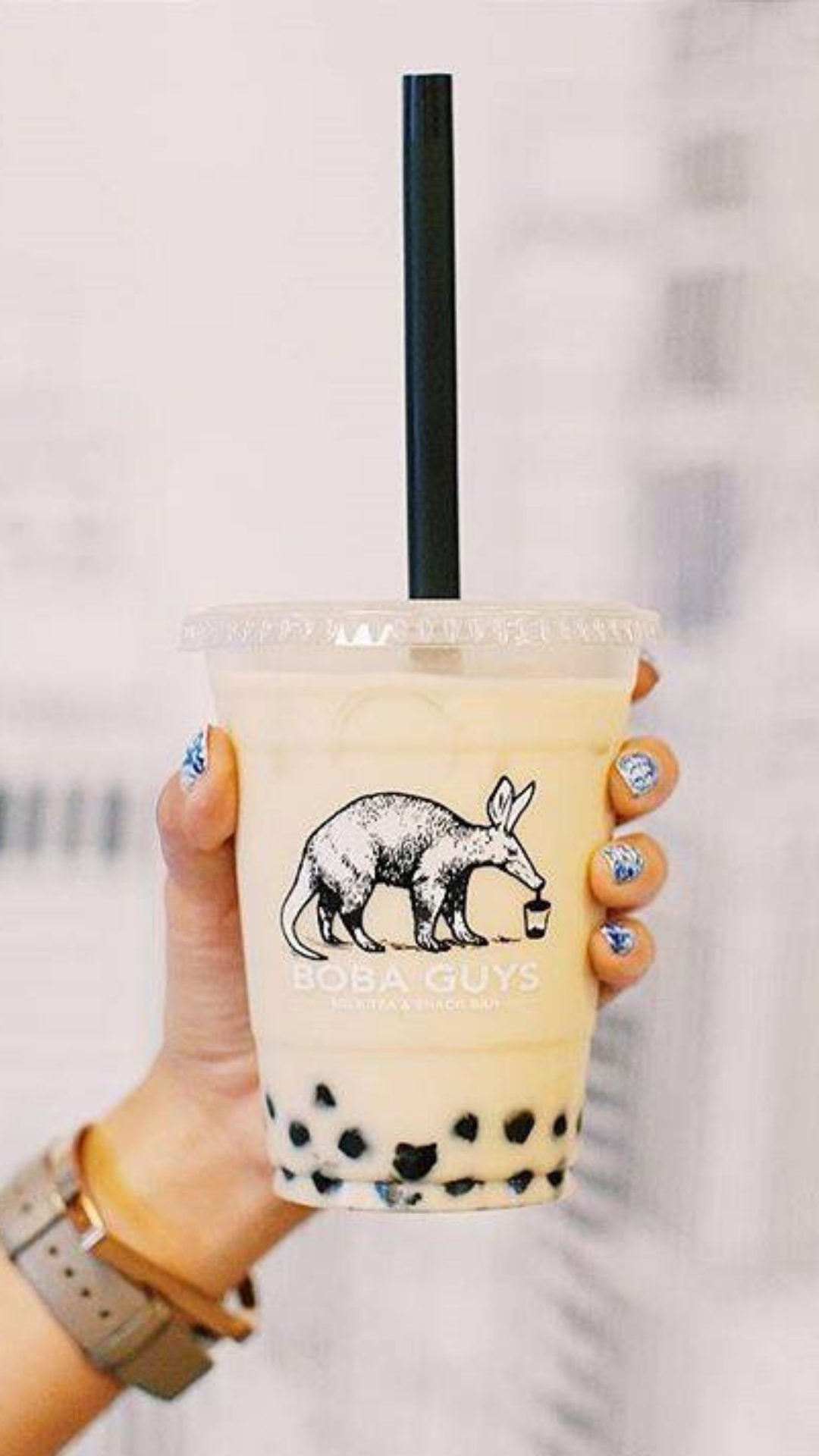 They've made lots of bubble tea, and now they'll make the