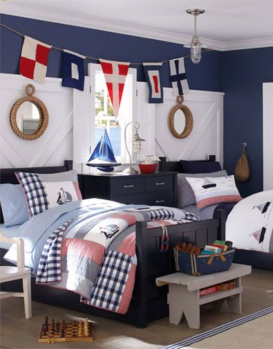 Transitioning Nautical Nursery To Toddler Room Pottery Barn Kids Two Boys Shared Room