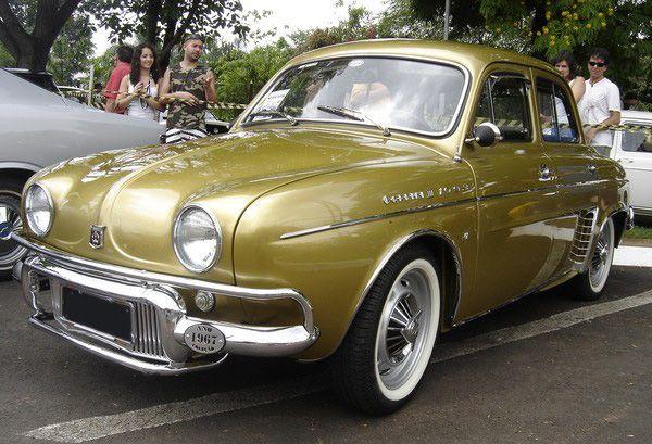 Carros Antigos  -  Gordini Tunado