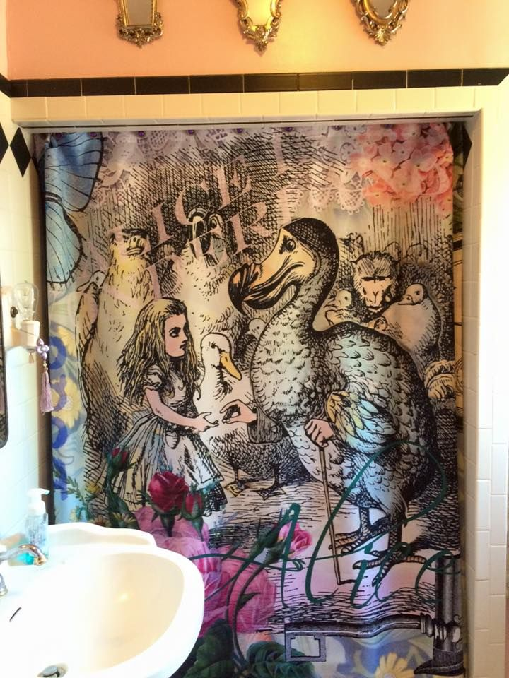 Alice In Wonderland Themed Bathroom Marvelous Interior Images Of
