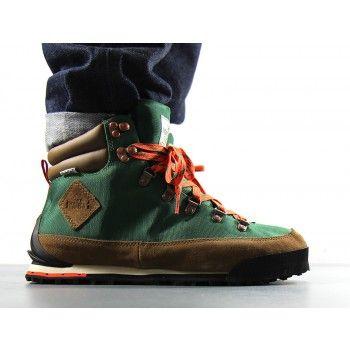 Dark Sage Green Spicy Orange Sneaker Boutique The North Face Boots