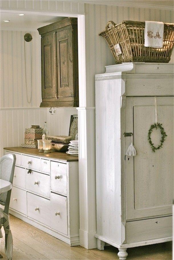 Woonkamer | Vergelijkbare brocante kasten en dressoirs in landelijke ...