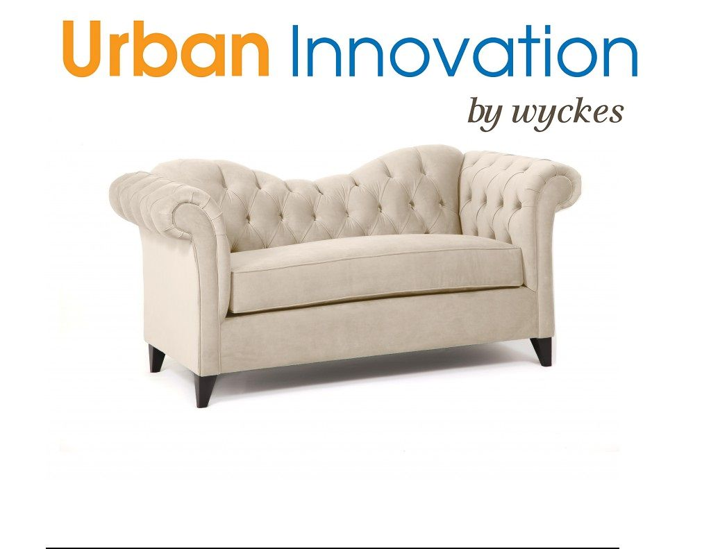 Reclining Sofa Custom swooping back tufted rolled arm sofa sectional made in Los Angeles USA