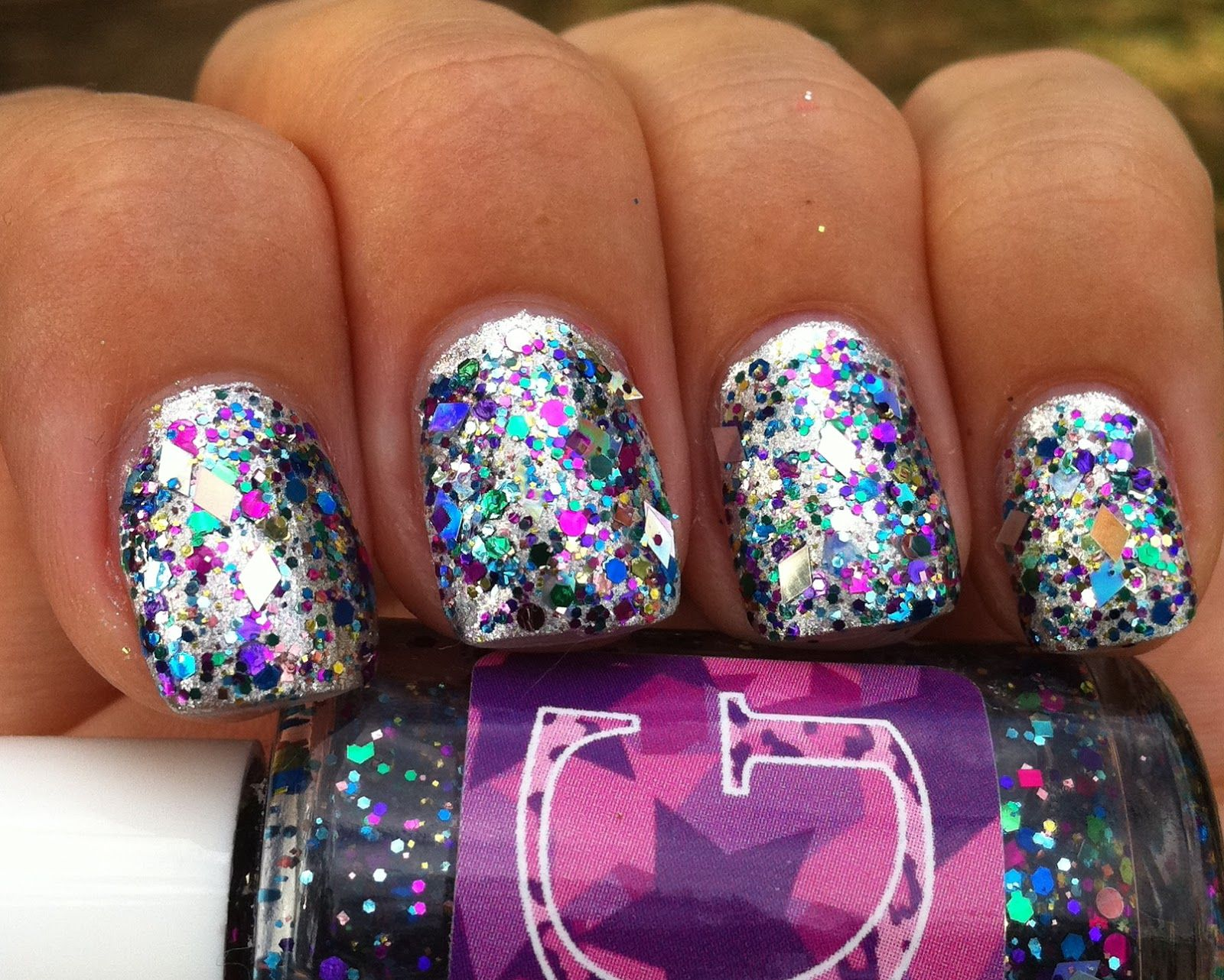 "Glam Polish Lucy Lucy short for ""Lucy in the sky with"
