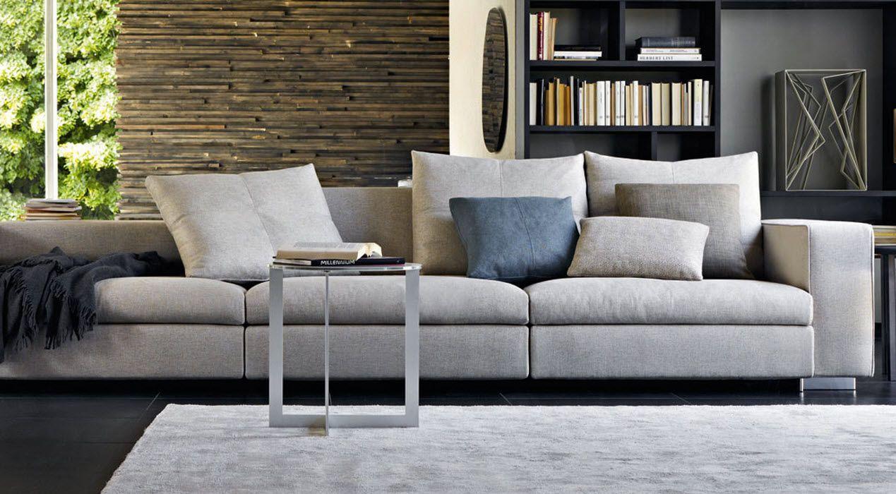 Divano moderno modulare turner by hannes wettstein for Molteni furniture
