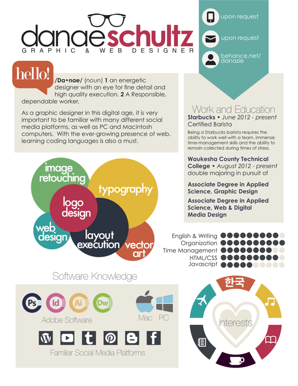 25+ Infographic Resume Examples for Inspiration