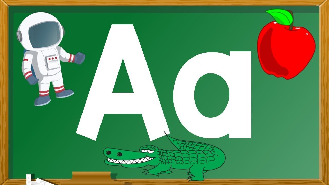 Every letter makes a sound, the Aa says