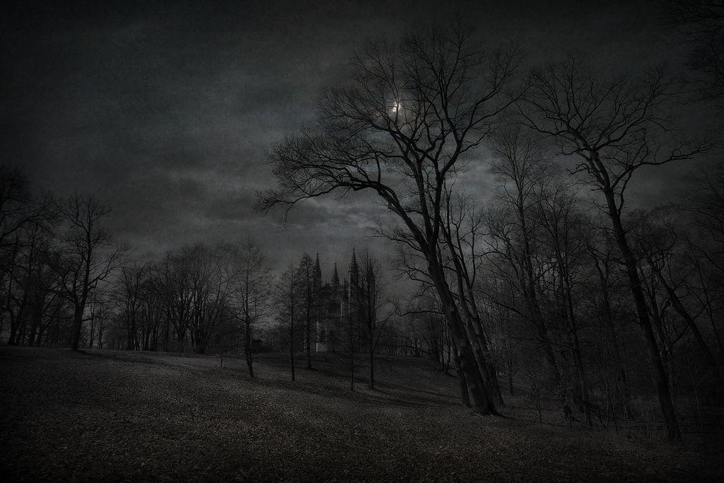 Gothic Night Dark Images Landscape Art
