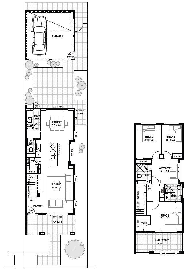 bedroom house designs perth double storey apg homes also floor rh nz pinterest