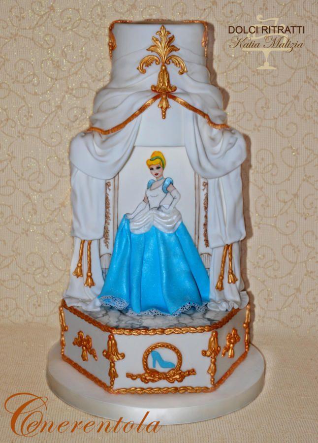 Cinderella Cake by Dolci Ritratti di Katia Malizia Cakes Cake