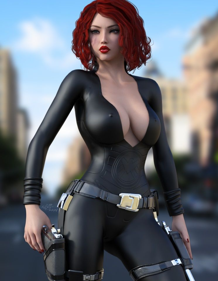 Something black widow avengers porn