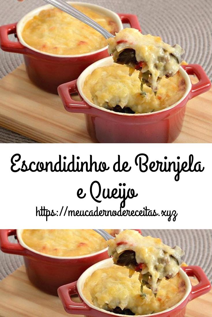Photo of Escondidinho de Berinjela e Queijo – Meu Caderno de Receitas