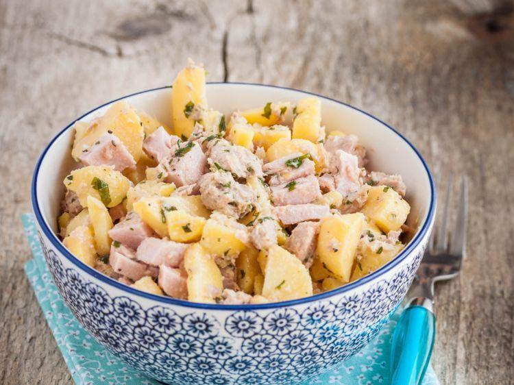 Salade de pommes de terre thon et cervelas  RecettesDécouvrez notre recette facile et rapi Salade de pommes de terre thon et cervelas  Recettes