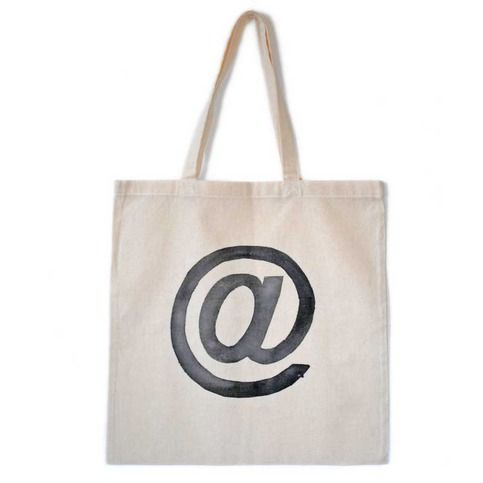 Hand Painted @ Symbol Tote from LoveM.co $10.00