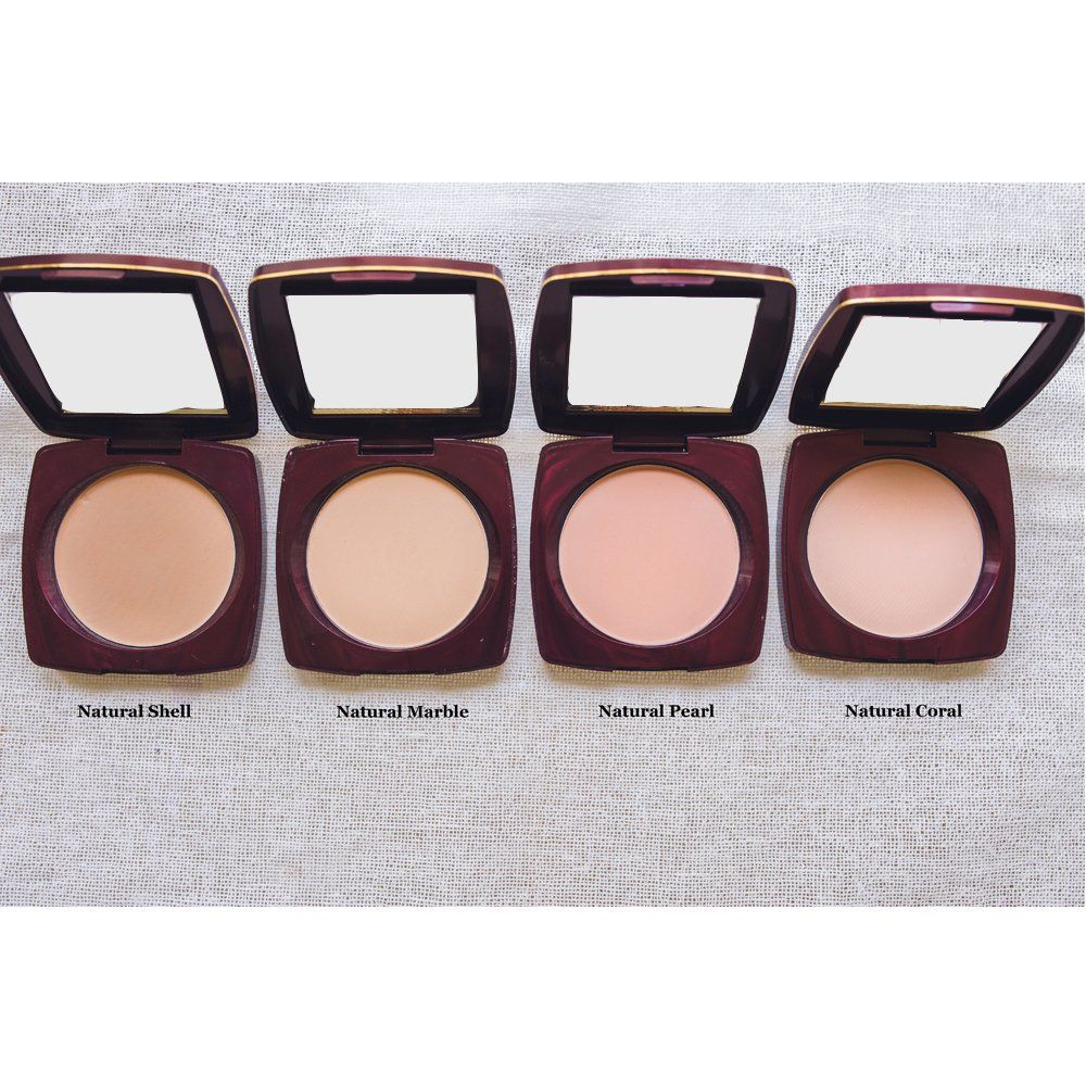Lakme radiance compact face powder natural shell click