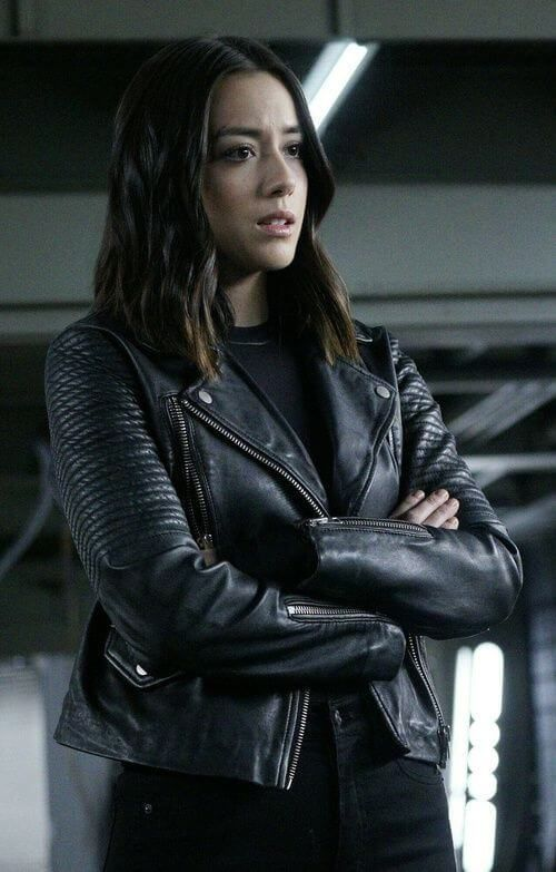 419c679b78bce Chloe Bennet Agents Of Shield Black Jacket | Christmas Sale | Chloe ...