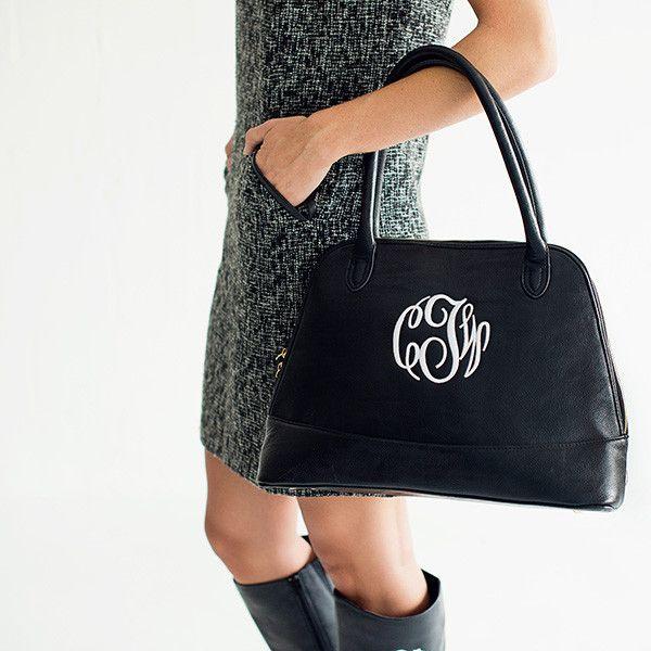 Monogram Handbag - Three Colors