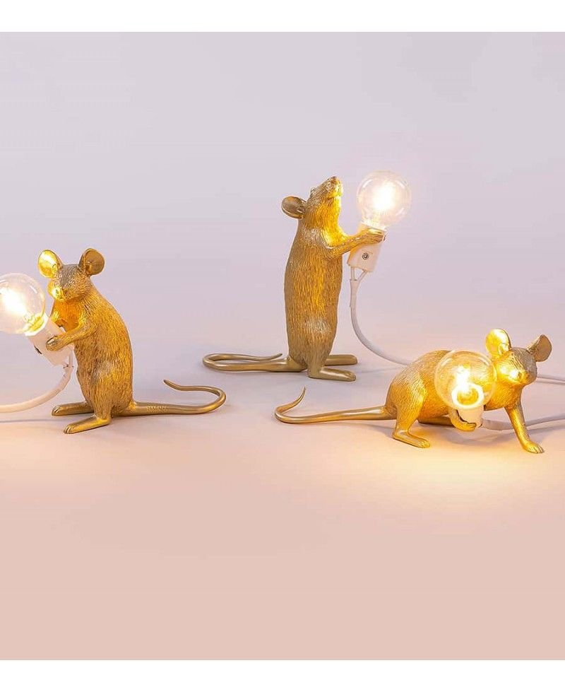 Lampe Souris Blanche Mouse 3 Positions Seletti In 2018 Home