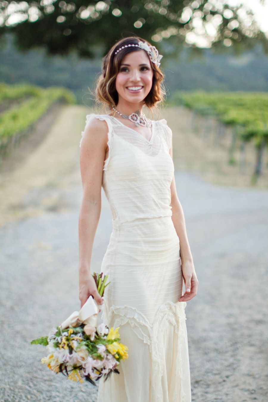 Gatsby Inspired Bridal Style   Lace n Ruffles