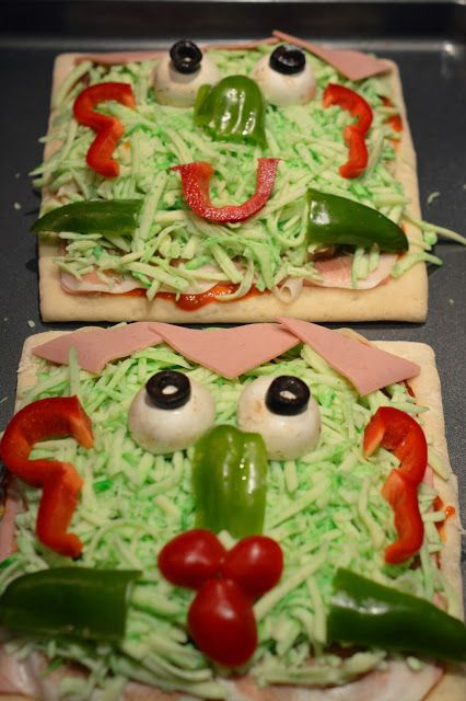 Pizza Frankenstein