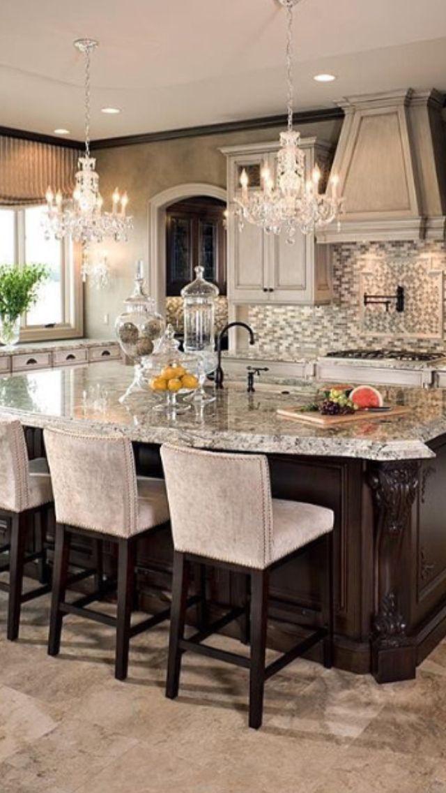 Pin de Heather Ashley en Home Decor ideas Pinterest Cocinas - cocinas elegantes