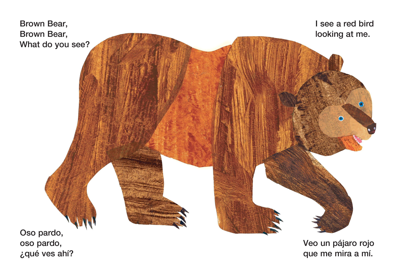Brown Bear Brown Bear What Do You See Oso Pardo Oso Pardo