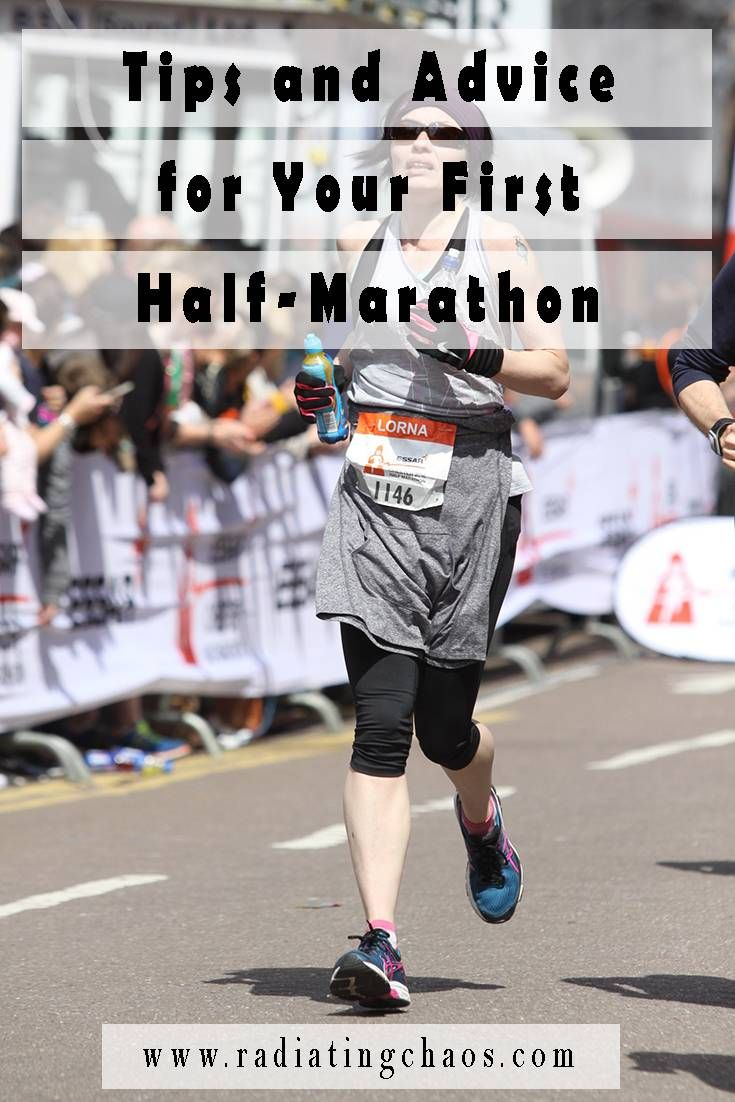 Are you training for your first half-marathon? Here are some tips and advice from when I did mine.