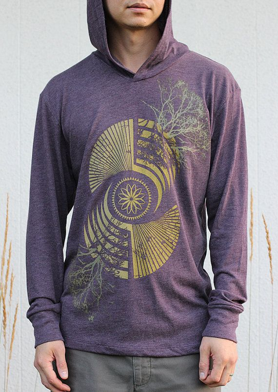 ae5d182314fbe Crop Circle Sacred Geometry Clothing - REFLECTION Screen Print ...