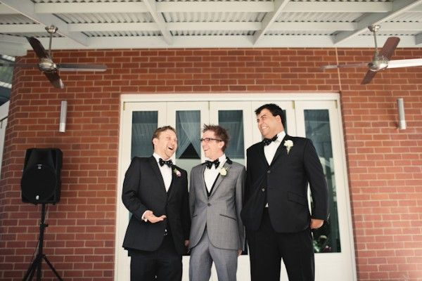 A lantern-lit backyard Aussie wedding | Offbeat Bride