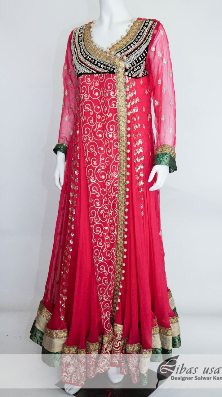 Designers party dresses 2015 for girls pakistani gown Pakistani fashion designers