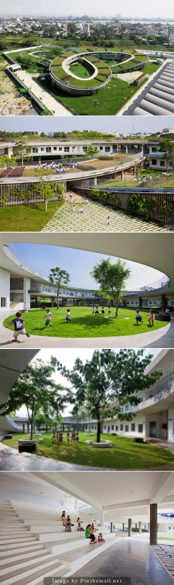 Kinder Garden: Vo Trong Nghia Farming Kindergarten, Vietnam