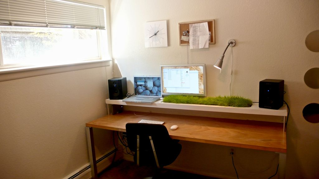 Work Space Grass Tiny Home Office Cheap Tiny House