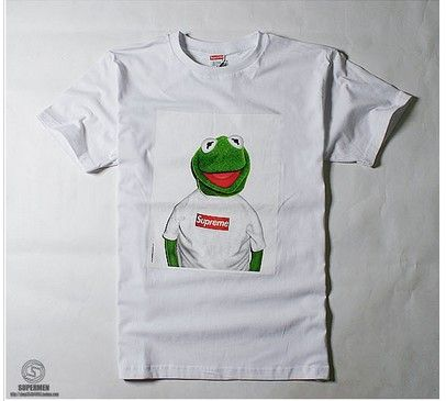 Kermit The Frog T Shirt Supreme Hoo Sweater Shirts Jumper Color Black Funny Pullover Jacket In From