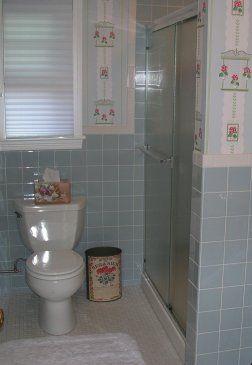 Scenes From 22 Blue Midcentury Bathrooms Retro Renovation Best