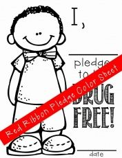 just say no to drugs coloring pages | Coloring Pages for Kids ...