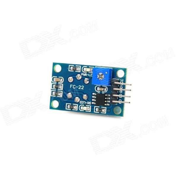 MQ-6 Combustible Gas Propane / Butane / LPG / LNG Detector Sensor Module for Arduino. Model: MQ-6 - Quantity: 1 - Color: Blue + Silver - Material: PCB board - High quality double panel design, with power and TTL signal output indicator - With DO switch signal (TTL) output and AO analog signal output - TTL output effective signal for low level (when output lower than usually the signal light, can be directly meet SCM or relay module) - Analog output voltage: 0~5V, the higher concentration…