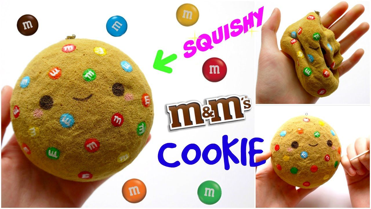 DIY M&M COOKIE SQUISHY ~ Homemade Squishy Tutorial Squishies Pinterest Homemade, Tutorials ...