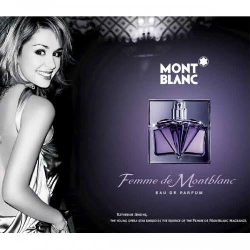 Femme de Montblanc е мек ориенталски аромат създаден по случай 100 годишнината на марката Mont Blanc. Композицията се отваря с охлаждащи и свежи тонове на бергамот и ананас съчетани в брилянтна хармония с пикантни акорди на кардамон и топла канела. Лансиран през 2006 година. https://fragrances.bg/mont-blanc-femme-de-montblanc-edt-75ml-for-women-without-package